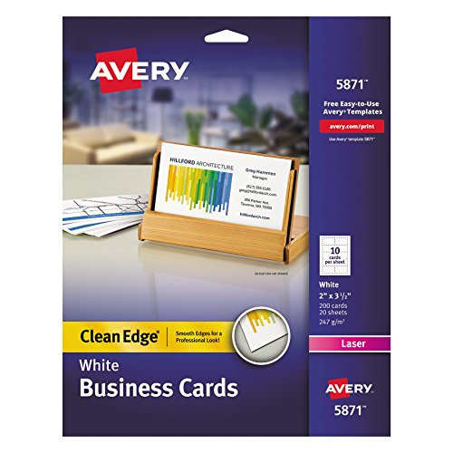 Avery Printable Two Side Clean Edge 05871