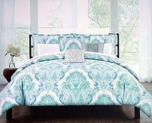 Amazon Com Tahari Bedding 3 Piece Full Queen Duvet