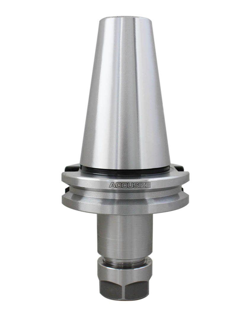 Accusize Tools - CAT40 V-Flange Collet Chucks, from ER16 to ER40 (CAT40 to ER16, 2.76'')