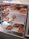 Self Serve Pastry or donut display case 3 trays for deli bakery convenience stores Display it and keeps fresh