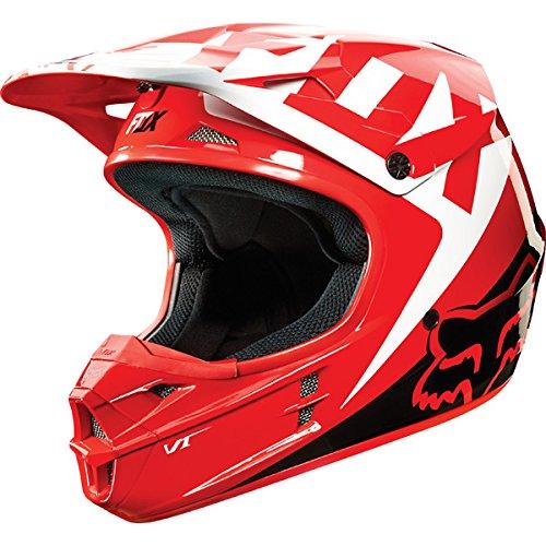 Fox 2015 V1 Race Helmet Red M M 10951-003-M