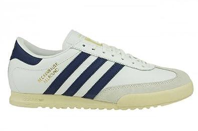 G15987 Herren Allround Schuhe Weiß Sneaker Adidas Beckenbauer ETPYwqnA