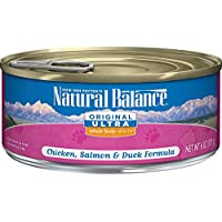Natural Balance Original Ultra Whole Body Health Wet Cat Food, Chicken, Salmon & Duck