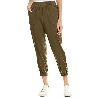 BCBGMAXAZRIA Women's Alder Long Pants with Elastic Waistband: Clothing