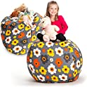 Creative QT Stuffed Animal Storage Bean Bag Chair