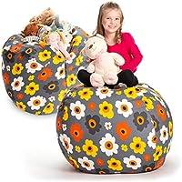 Creative QT Stuffed Animal Storage Bean Bag Chair (38