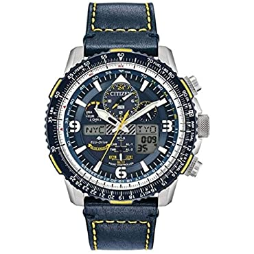 Citizen Watches Men's JY8078-01L Promaster Skyhawk A-T Blue One Size