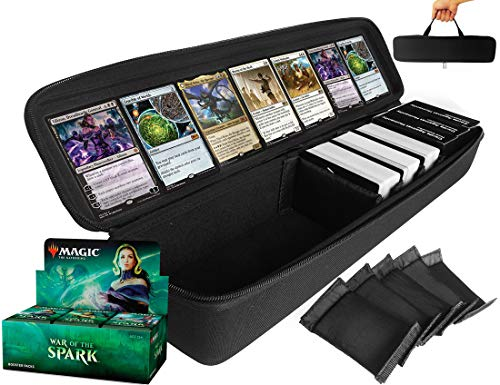 - FitSand Large Hard Case for Magic The Gathering War of The Spark Booster Box