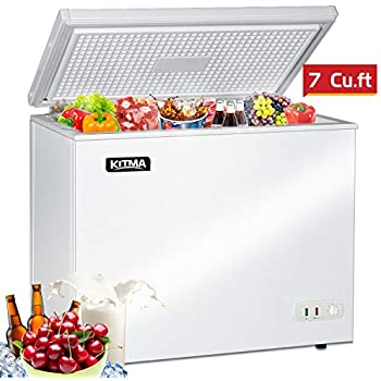 Amazon Com Commercial Top Chest Freezer Kitma 7 Cu Ft