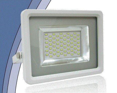 faflat50wbbn Proyector LED 50 W 4700 lúmenes luz 4000 ° K luz ...