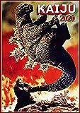 "2020 Wall Calendar [12 pages 8""x11""] Kaiju Horror"