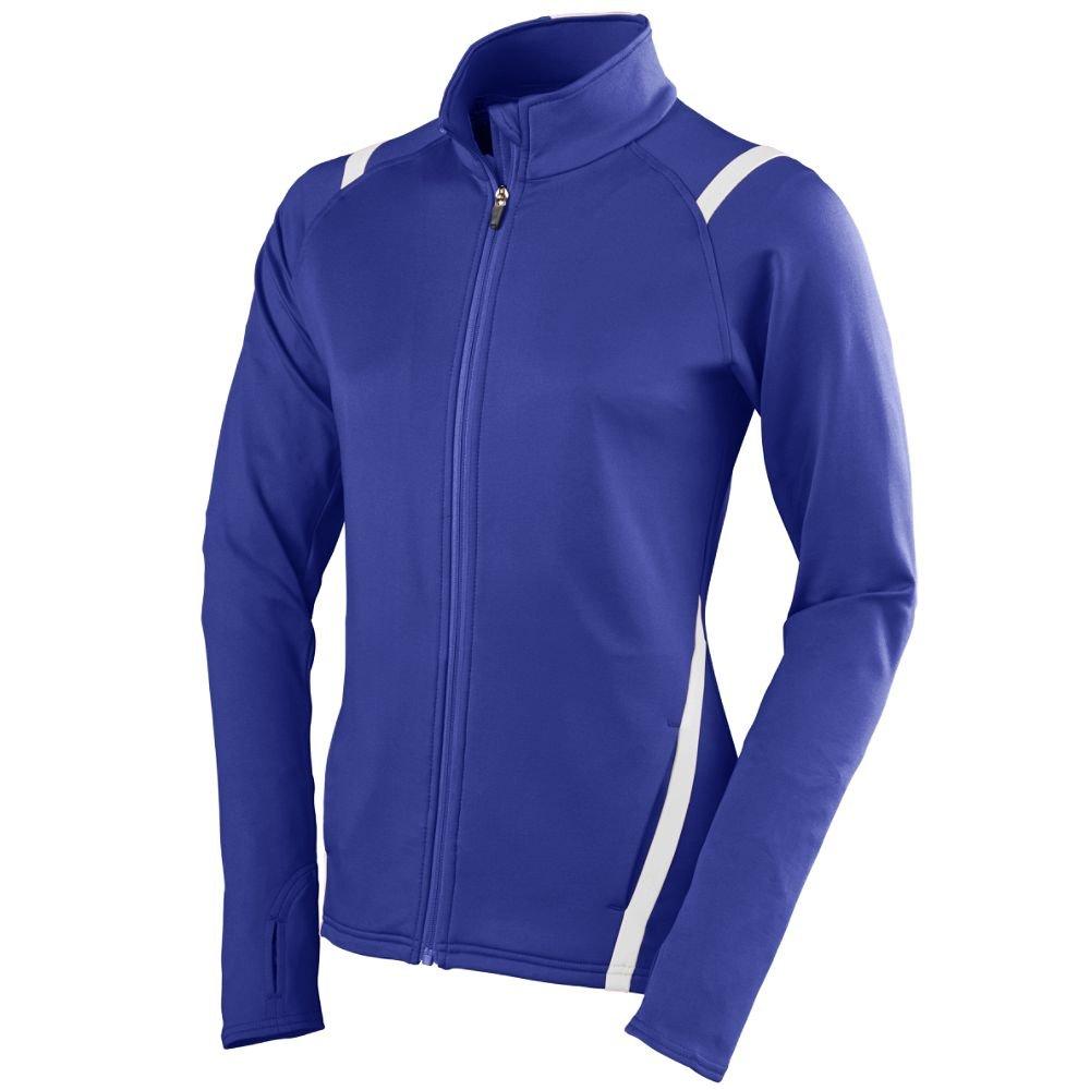 Augusta Sportswear Women's Freedom Jacket, Purple/White, Small