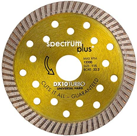 OX Tools DX10-300/20 Spectrum Plus Diamond Blade-Universal/Hard-300/20mm, 300/20mm