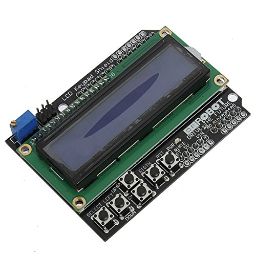 5Pcs Keypad Shield Blue Backlight For Arduino Robot LCD 1602 Board by BephaMart