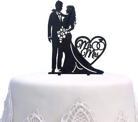 Cake Flags Topper Cake Topper Acrilico per Decorazioni per Matrimonio Cake Topper per Matrimonio Kitchen-dream Mr And Mrs Cake Topper Decorazioni per Matrimonio