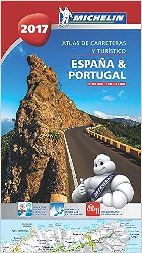 España & Portugal 2017 Atlas de carreteras y turístico Atlas de ...