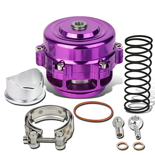 DNA Motoring Purple BOV-50MM-PP 50mm Blow-Off-Valve