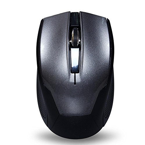 Tonor® Ergonomic Gaming Wireless Mouse for PC Laptop Computer Grey- 12 months Warranty