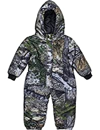 Mossy Oak Camo Infant - Toddler Baby Boy Insulated & Waterproof Snow Suit