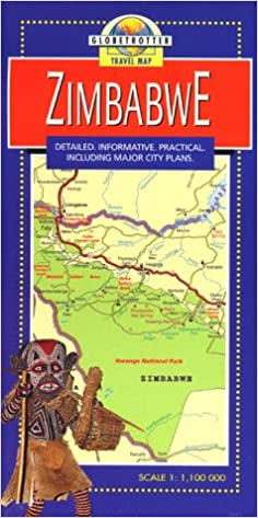 Zimbabwe (Globetrotter Travel Map): Amazon.co.uk ...