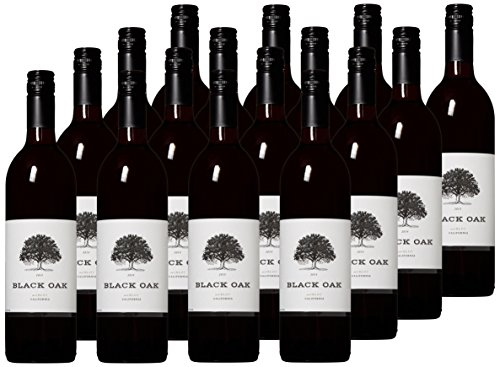Black Oak Big Time Merlot Red Wine Case Pack, 12 x 750ml