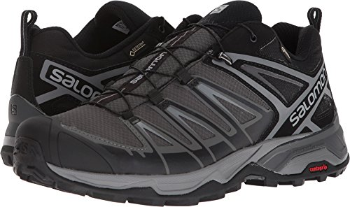 Salomon Men's X Ultra 3 GTX Hiking Boot, Black, 7 M US