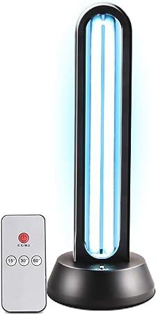 Lampada Antibatterica UVC Tasso Antibatterico 99/% Portatile Disinfettante Disinfettante Luce Lampada Germicida Ultravioletta per Auto Domestico Scuola Hotel Pet Area