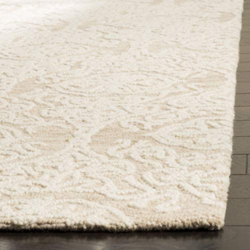 Safavieh Blossom Collection BLM112B Handmade Wool Area Rug