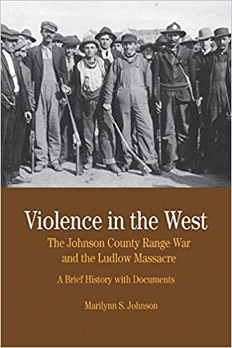 Amazon com: Violence in the West: The Johnson County Range War and