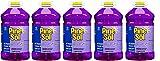 Pine-Sol Okyrsy 97301 Commercial Solutions Liquid Cleaner, 175.16 fl oz 5.18L Bottle, Lavender, 5 Bottles