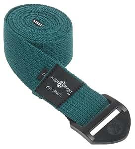 Hugger Mugger Cinch Yoga Strap 6-Foot (Green)
