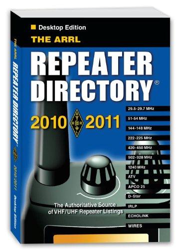 The 2010/11 ARRL Repeater Directory Desktop (Ham Repeater Directory)