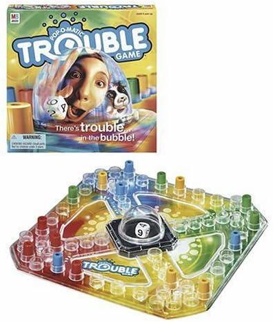 Pop /'n Hop Game Frustration Childrens//Kids Popping Dice Board Game