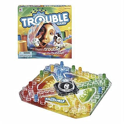 amazon com trouble game amazon exclusive toys games