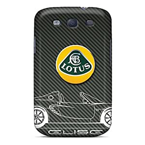 JohnPrimeauMaurice Samsung Galaxy S3 Scratch Protection Phone Covers Custom Beautiful Lotus Elise Pattern [eTi13802SeWo]
