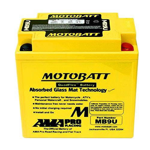 NEW Motobatt Battery For Vespa Cosa LX125 LX150 LX50 PK100 PK125 PK50 Scooters by DISCOUNT STARTER & ALTERNATOR