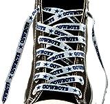 Dallas Cowboys Team Logo Colors 54'' Shoe Laces One Pair Lace Ups NFL