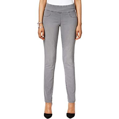 9981f4c9db4aab Style & Co. Womens Grey Wash Mid Rise Jeggings Gray P/S at Amazon Women's  Jeans store
