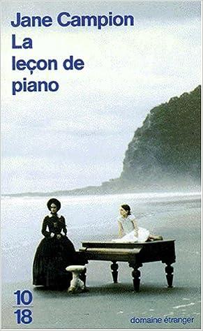 """Résultat de recherche d'images pour """"la lecon de piano jane campion livre"""""""