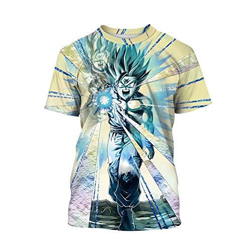 Dragon Ball Z Shirt Boys Girls 3D Print Cartoon Casual Pullover Tops]()