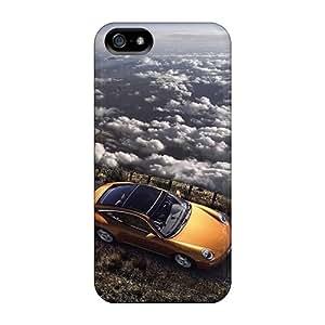 New Leoldfcto744 Super Strong Porsche Carrera Gt Climbing A Mountain Cases Covers For Iphone 5/5s