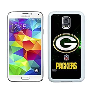 100% brand new Green Bay Packers 40 White Samsung Galaxy S5 i9600 Case