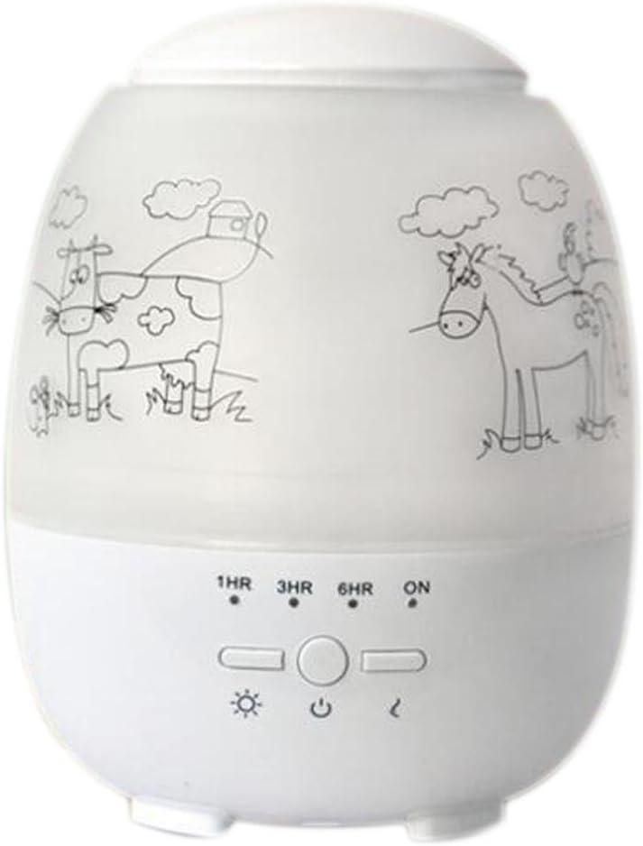 Difusor de Aceites Esenciales JY-074 300ml Humidificador Mudo ...