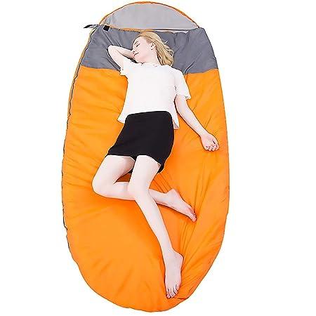 TSSM Saco de Dormir Ligero para Acampar al Aire Libre, Saco ...