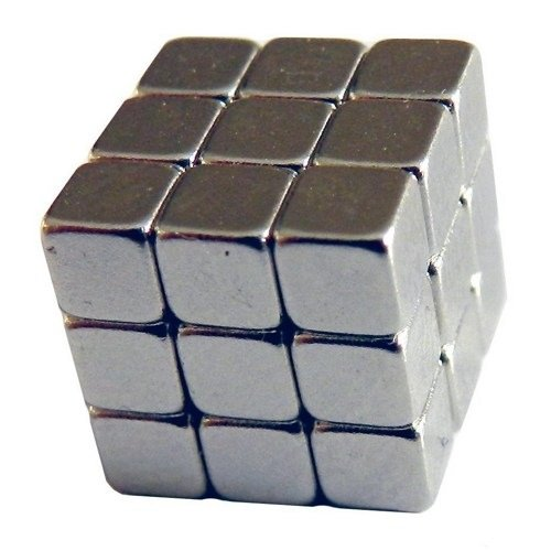 "27 Neodymium Magnets 0.250"" inch Cube Block"