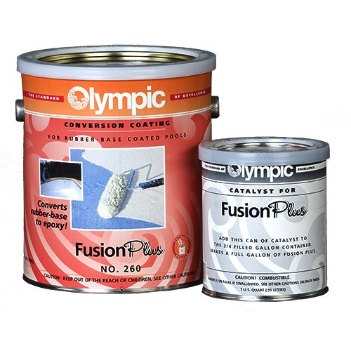 - Kelley Technical 260GL Olympic Fusion Plus Coverts Rubber Base Epoxy Gallon