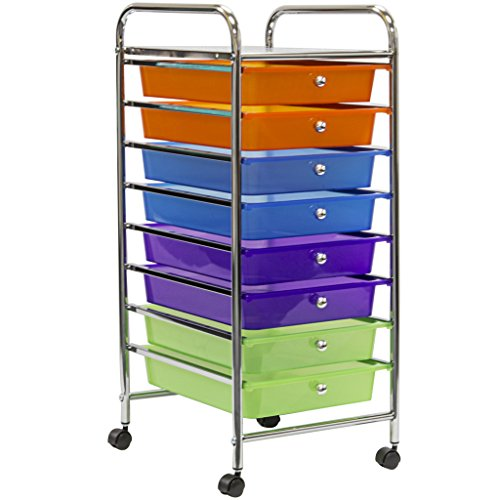 Sorbus Organizer Features Wheels Great Multi color