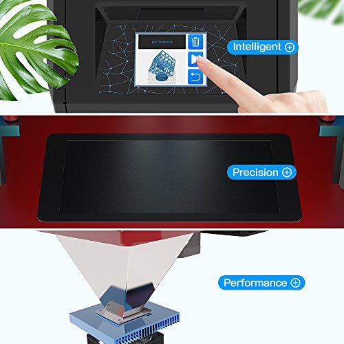 """ANYCUBIC Photon UV LCD 3D Printer Assembled Innovation with 2.8"""" Smart Touch Color Screen Off-line Print 4.53″(L) x 2.56″(W) x 6.1″(H) Printing Size"""