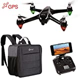 EARLY BLACK FRIDAY DEAL! Contixo F18 Advanced GPS Assisted RC Quadcopter 1080P HD Live FPV 5G Wifi Video Camera Drone Smart RTH Hovering Brushless Motors Carrying Back Pack App Control -Best Gift Idea