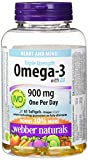 Best Omega 3 Pharmaceuticals - Webber Naturals Triple strength omega-3 plus vitamin d Review